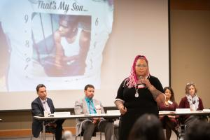Kimberely Dixon works not only as a life coach and an adjunct professor at Portland Community College, but she also volunteers with the Portland Police Bureau's Crisis Response Team, working with families who've lost loved ones.