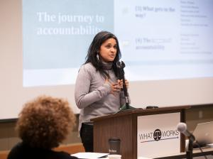 Sonya Shah is a founder of The Ahimsa Collective a healing organization that works with people who have committed an act of violence, survivors of violence and their families and law enforcement.