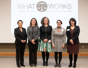 Members of the Multnomah County Board of Commissioners attended the event.