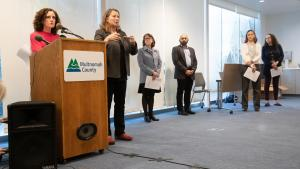 Metro region health officials at March 19 press conference
