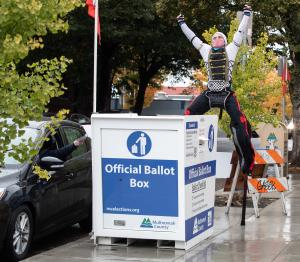 Use an Official Ballot Drop Site to safely and securely return your voted ballot.