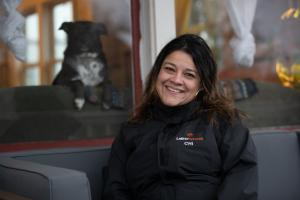Ximena Ospina-Todd, Director of Community Stability and Support Services at Latino Network, a Portland-based nonprofit that works to positively influence the lives of Latinx youth, families, and communities throughout Multnomah County.