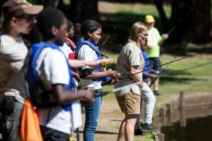 Youth connect to nature, safety, wellness and opportunity through I'm Hooked