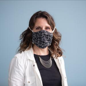 Chair Deborah Kafoury wearing a face covering.