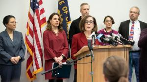 Governor Kate Brown & County Leadership Press Conference