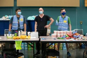 June 2021 Cooling Shelter workers
