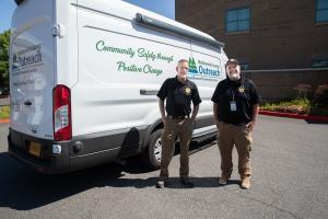 Mental Health Unit officers John McVay and Joe Wenhold.