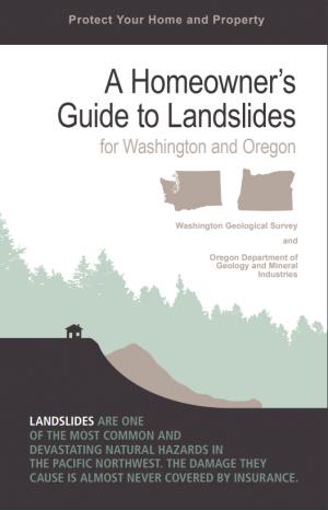 Cover image of A Homeowner's Guide to Landslides pamphlet