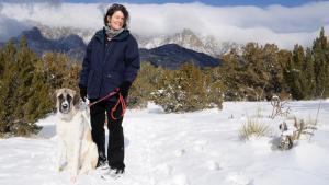 Lynn Songer on a hike in Albuquerque, NM