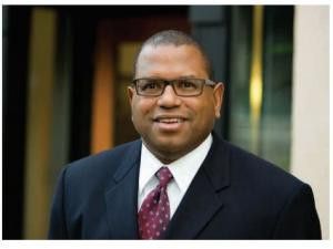 Andre Baugh, owner of Group AGB, who specializes in MWESB management and coordination for large construction
