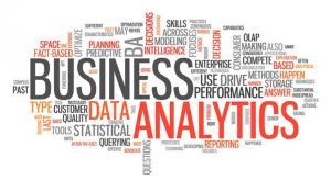 Data Analytics Word Graphic