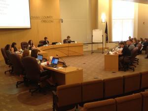 CBAC presenting to Board