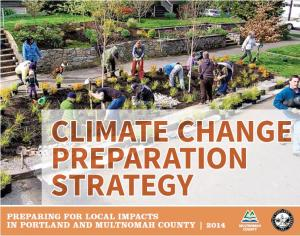 Climate Change Preparation Strategy Cover Page