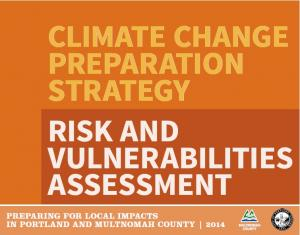 Climate Risks and Vulnerabilities Assessment Cover Page