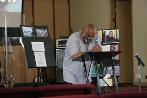 Thursday's graduation brought celebration and tears. Carl Rucker, mentor with Volunteers of America, talked about the deep loss community members have experienced due to gun violence.