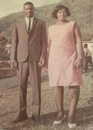 Ruthven Charles and Hadassah Chapman were married for more than 60 years. Five of their six children, including Patricia Charles-Heathers, live in the united States.