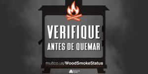 Check Before You Burn message for Twitter (Spanish)