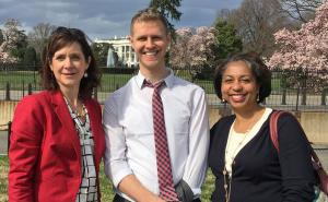 Vanetta Abdellatif takes a policy trip to Washington D.C. with former Primary Care Director Christy Ward and former Deputy Sami Jarrah.