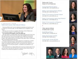 Page 1 of Guide to Multnomah County