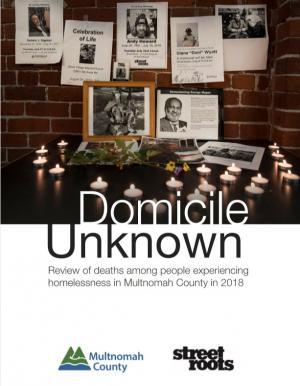 Cover of the 2019 Domicile Unknown report