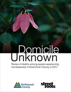 Domicile Unknown 2017 cover page