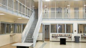 Photo inside Multnomah County Inverness Jail in Northeast Portland