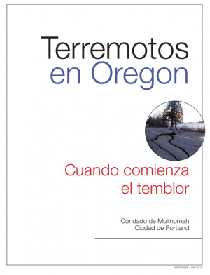Cover image of Earthquake Primer in Spanish