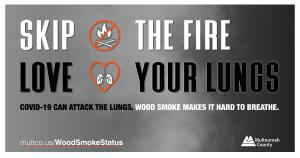 Skip the Fire Love Your Lungs message for Facebook (English)