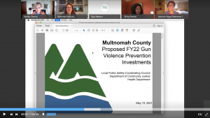 Chair's Fiscal Year 2022 Proposed Budget includes $4 million in new and enhanced investments from public and behavioral health to parole and probation to address the epidemic of community violence.