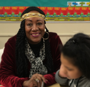 foster grandparent at Lincoln park elementary