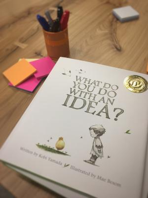 photo of what do you do with an idea book