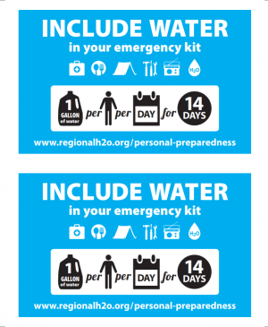 Image of Include Water In Your Emergency Kit card