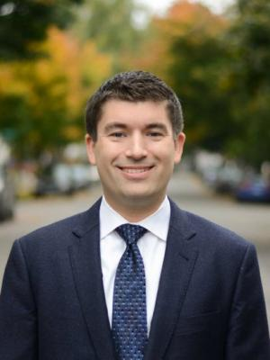 Commissioner- elect Jules Bailey