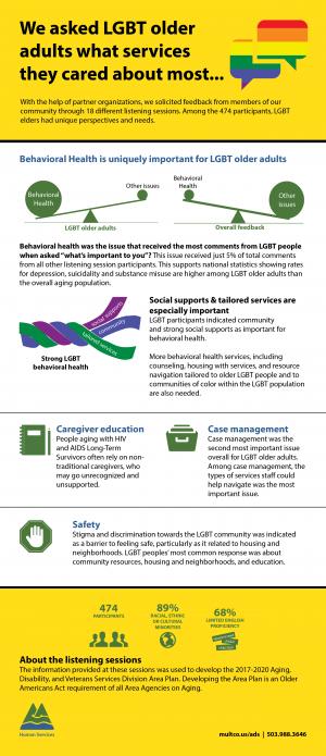 LGBT elders infographic