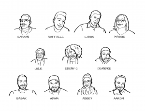 Working Group Facial Sketches