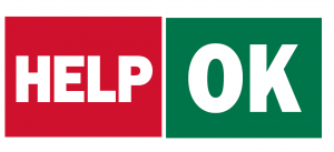 Image of OK / Help Sign