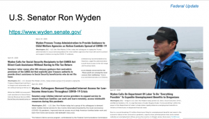 Wyden COVID-19