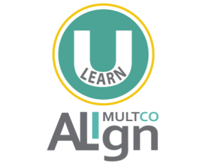 U Learn Multco Align Aqua
