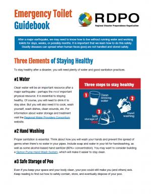 Image of Emergency Toilet Guidebook