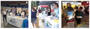 Multnomah County Elections voter education and outreach in the community.