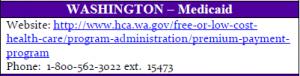 Washington State CHIP Contact