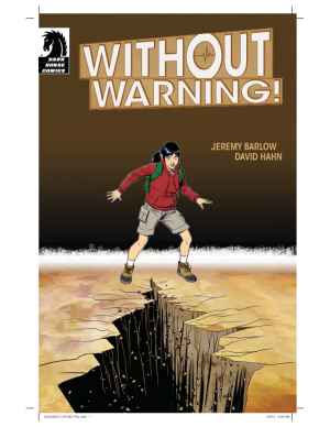 Cover image of Without Warning Earthquake Comic