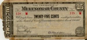 Multnomah County depression scrip