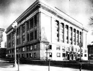 historic Multnomah County Courthouse photos