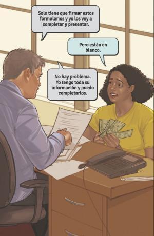 estafas notario notario fraud
