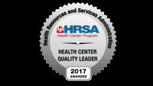 HRSA quality leader badge