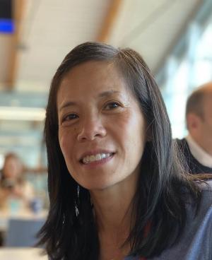 Wendy Lin-Kelly, a research evaluation analyst for the Multnomah County Sheriff's Office and a member of the Immigrant and Refugee Employee Resource Group, described her journey in taking action against systemic racism.
