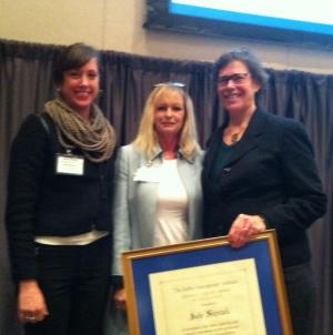 Commissioner Shiprack receives Freisen Award from the JMI