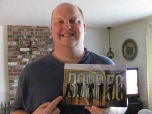 Kevin with his Bond Collection