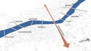 The Burnside Bridge is part of the Burnside regional lifeline corridor